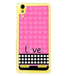 Fuson Love Girl Designer Back Case Cover for Lenovo A6000 Plus :: Lenovo A6000+ :: Lenovo A6000 (Love Quotes Inspiration Emotion Care Fun Funny)