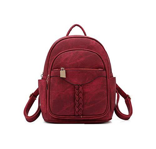 Sac à dos Pour Femmes Pour Les Adolescents De L'école Filles Élégant Sac D'école Dames Nylon Tissu Femme Bookbag