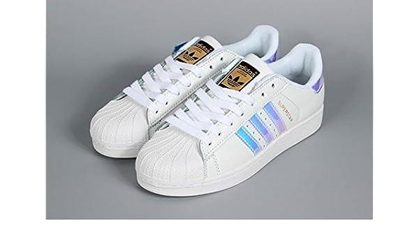super popular b8126 7ba96 Superstar AD Classic White Hologram Iridescent Imported ...