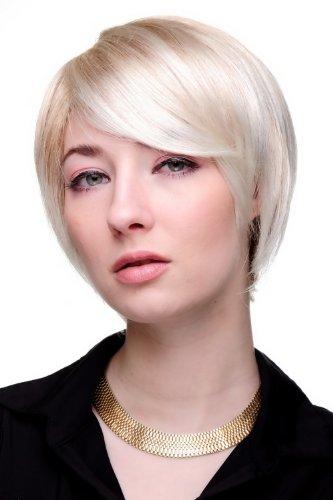 WIG ME UP ® - 6082-27T613 Perücke COOL BLOND KURZ (Kurze Perücke Blonde)