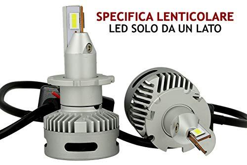 Kit Full Led Canbus Lampada D2S D2R D4S 45W 12V 24V Per Faro Lenticolare Piu Lumisoso Dello Xenon Originale