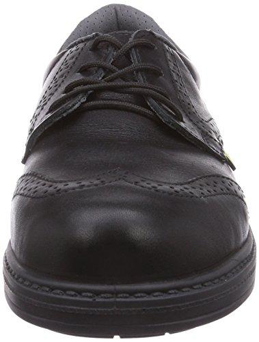 MTS Sicherheitsschuhe M-esd London S3 Flex Esd 19103, Chaussures de sécurité mixte adulte Noir - Noir