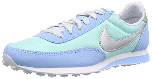 Nike Mädchen Elite Low-Top, Türkis (Artsn Tl/Mtllc Slvr-Lksd-SMMT), 38.5 EU