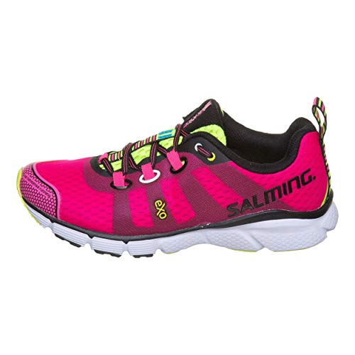 Salming Women Enroute Neutral Running Shoe Running Shoes Pink - Black 8