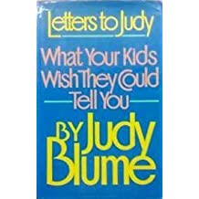 Letters to Judy by Judy Blume (1986-04-29)