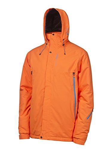 Protest, Giacca Uomo, modello Taku Snow, Arancione (Orange), XXL