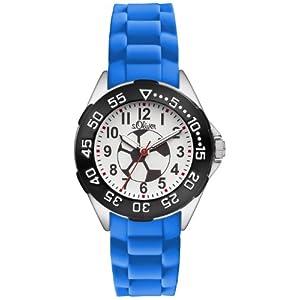 s.Oliver Jungen-Armbanduhr Analog Quarz Plastik SO-2833-PQ