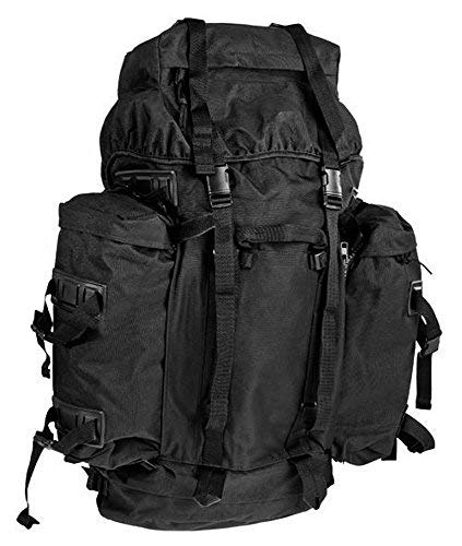 8630d9dfb0 Big Bundeswehr montagne trekking à dos 80 + 20 litres de différentes  couleurs - noir