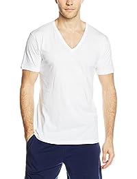 3 t shirt corpo uomo LIABEL mezza manica scollo a V 100% cotone art. 03828/53