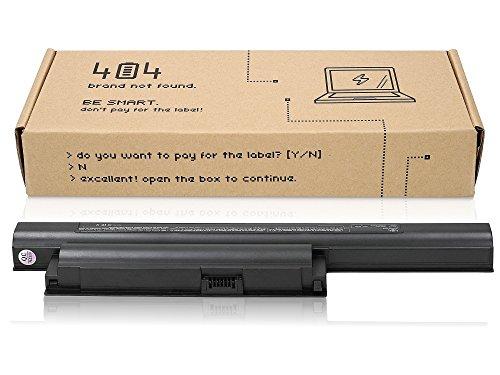 top Akku für Sony Vaio VPCEB42FX (10.8V, 4400 mAh, schwarz, 6 Zellen) ()