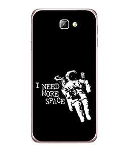 PrintVisa Designer Back Case Cover for Samsung On5 (2016) New Edition For 2017 :: Samsung Galaxy On 5 (2017) (classy new design black white awsome sentence)