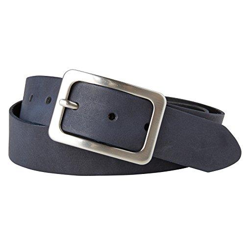 TOM TAILOR Frauen Belts klassischer Leder-Gürtel Gr:-80 EU, Farbe:-Marine / Navy (Marine Toms Schuhe)