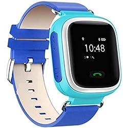 Q60Reloj de pulsera Smart Watch, llamadas Seguridad Niños Localizador GPS GPRS