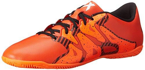 Adidas Performance X 15.4 Indoor Chaussure de football, noir / choc rose / or, 7 M Us Bold Orange/White/Solar Orange