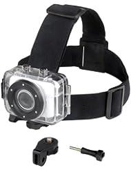 Easypix GoXtreme Accessory Fixation serre-tête pour Caméra