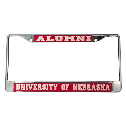 University of Nebraska Alumni Nummernschild Rahmen Nebraska University