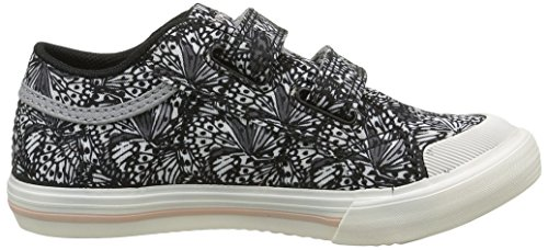 Le Coq Sportif Unisex-Kinder Saint Gaetan Inf Butterfly Cl Sneakers Schwarz (Black/Rose CloudBlack/Rose Cloud)