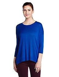 US Polo Womens Cotton Sweatshirt (UWFL0042_True Blue_Small)
