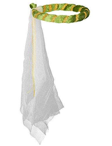 Jungfernkranz Isabella, grün, mit (Kostüme Isabella Königin)