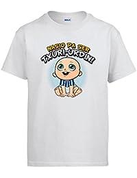 Camiseta Nacido para ser Txuri Urdin La Real fútbol