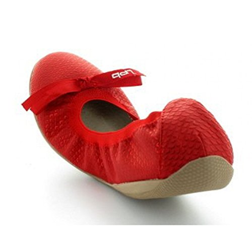 Ballerine Les P'tites Bombes Ella S. Rouge Rouge