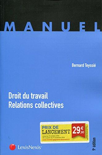 Droit du travail : Relations collectives