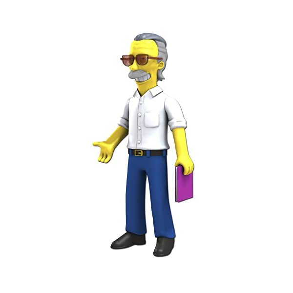 Simpsons 25th Anniversary 5 Inch Figure Series 5 Stan Lee by NECA 1