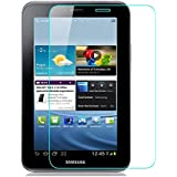 TECHSHIELD® Tempered Glass Guard For Samsung Galaxy Tab 2 (P3100) 7 Inch 2.5D .3mm Curved Flexible Edge-to-Edge Tempered Glass Screen Protector