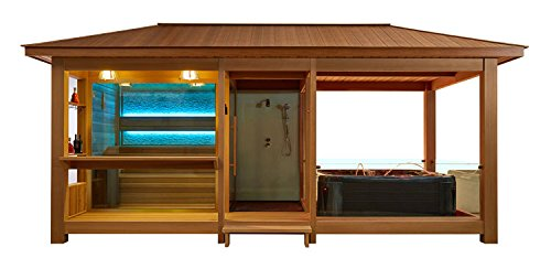 EO-SPA Sauna LT06 rote Zeder