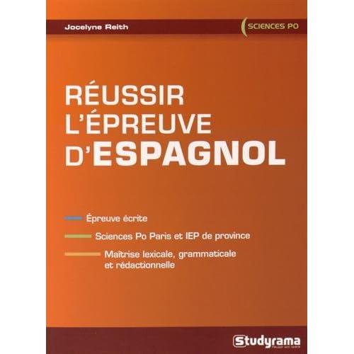 Réussir l'épreuve d'espagnol