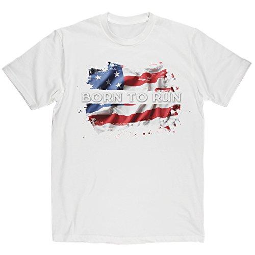 mens-born-to-run-classic-rock-music-t-shirt-white-print-medium