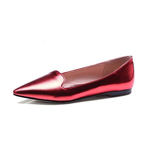 Versione coreana di Joker a punta comode scarpe da donna in primavera/Casuale scarpe piatte A