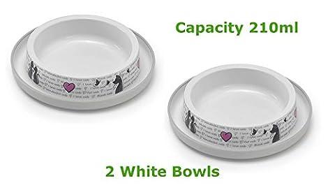 Futternäpfchen für Katzen / Hunde / Haustiere, in 4Farben erhältlich,