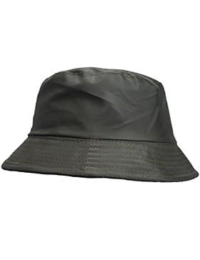 Sombrero impermeable mate para la lluvia, gorro con interior de forro polar