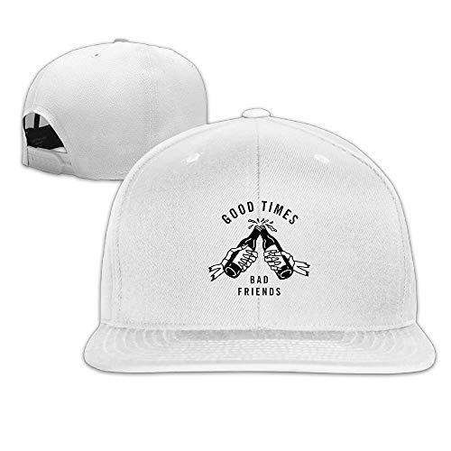 Happy Camper Männer Weiblich Unisex Sandwich Hut Einstellbare Baseballmützen Hiphop Hut One - Mann Ray Kostüm