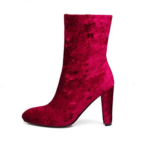 Abl09789 Del Balamasa Sandali Cuneo Rosa Rosso Donne dwqqHR