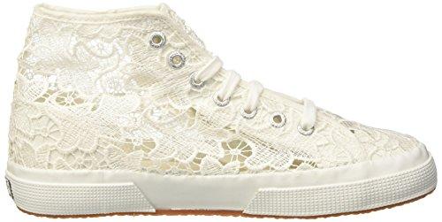 Superga 2795-Macramew, Sneaker, Donna Bianco