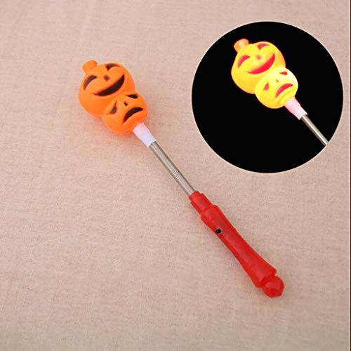 Light Stick Kostüm - VICKY-HOHO blinkende Stick leuchtende Kürbis Hand