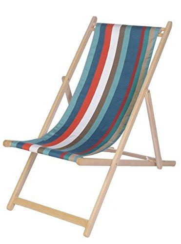 Chaise longue transat chilienne Sunbrella Java - Artiga