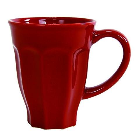 Lot de 6 Mugs Tulipe 25 CL Terroir Rouge
