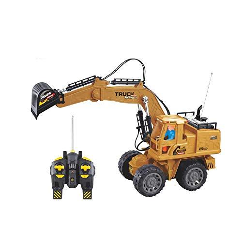 RC Auto kaufen Baufahrzeug Bild: Baufahrzeuge Ferngesteuerter Bagger Rc Kinder - 1:8 10-Kanal Ferngesteuerter Bagger Mit 2,4G Fernbedienung Elektrisches Spielzeug Für Kinder*