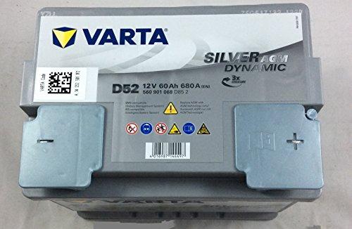Zoom IMG-1 varta silver dynamic agm d52