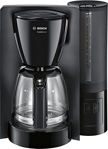 Bosch Comfort Line TKA6A043 - Cafetera de filtro / goteo, 1200 W, color negro