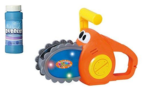 ⚝ Seifenblasen Kettensäge Seifenblasenmaschine Motorsäge für Kinder inkl. 240 ml Seifenblasen Nachfüllflasche ⚝ thumbnail