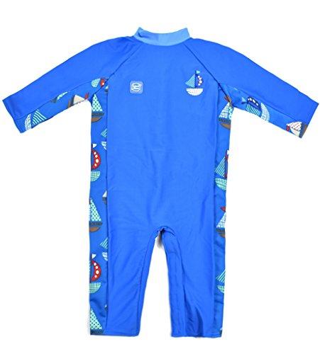 (Splash About Baby Einteiliger UV-Schutzanzug, Segel, 6-12 Monate, UVASS6)