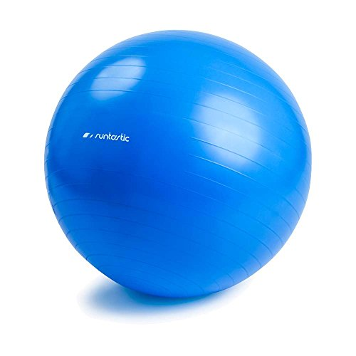 Runtastic Exercise Ball (Gymnastikball inkl. Pumpe) Blau