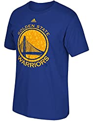 "Golden State Warriors Adidas NBA ""Cut The Net"" Premium Print S/S Men's T-Shirt Chemise"