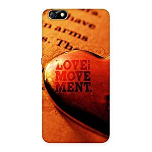 Special Love Movement Back Case Cover for Honor 4X