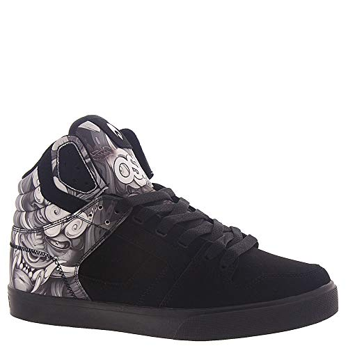 Osiris Clone Zapatos de Skate para Hombre, Negro Negro, Blanco, Gris, Black-White-Light Grey, 42.5...