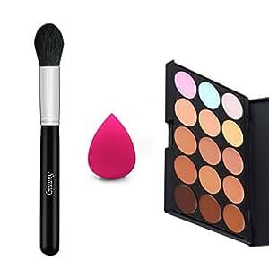 palette maquillage correcteur crème de camouflage 15 couleurs cosmétique visage